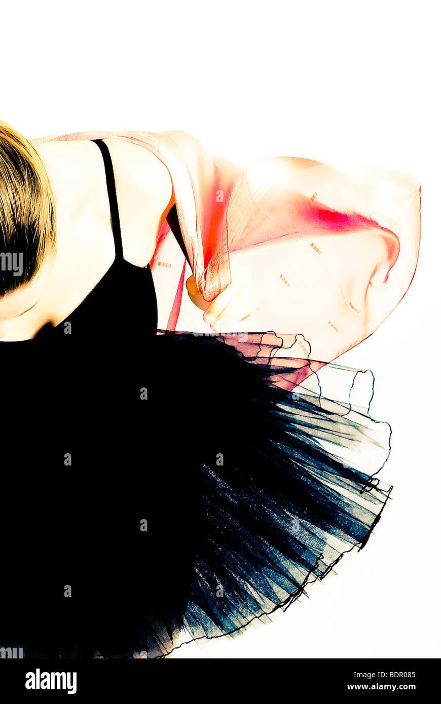Eine Ballett-Tänzerin Nr. 6 Stockbild