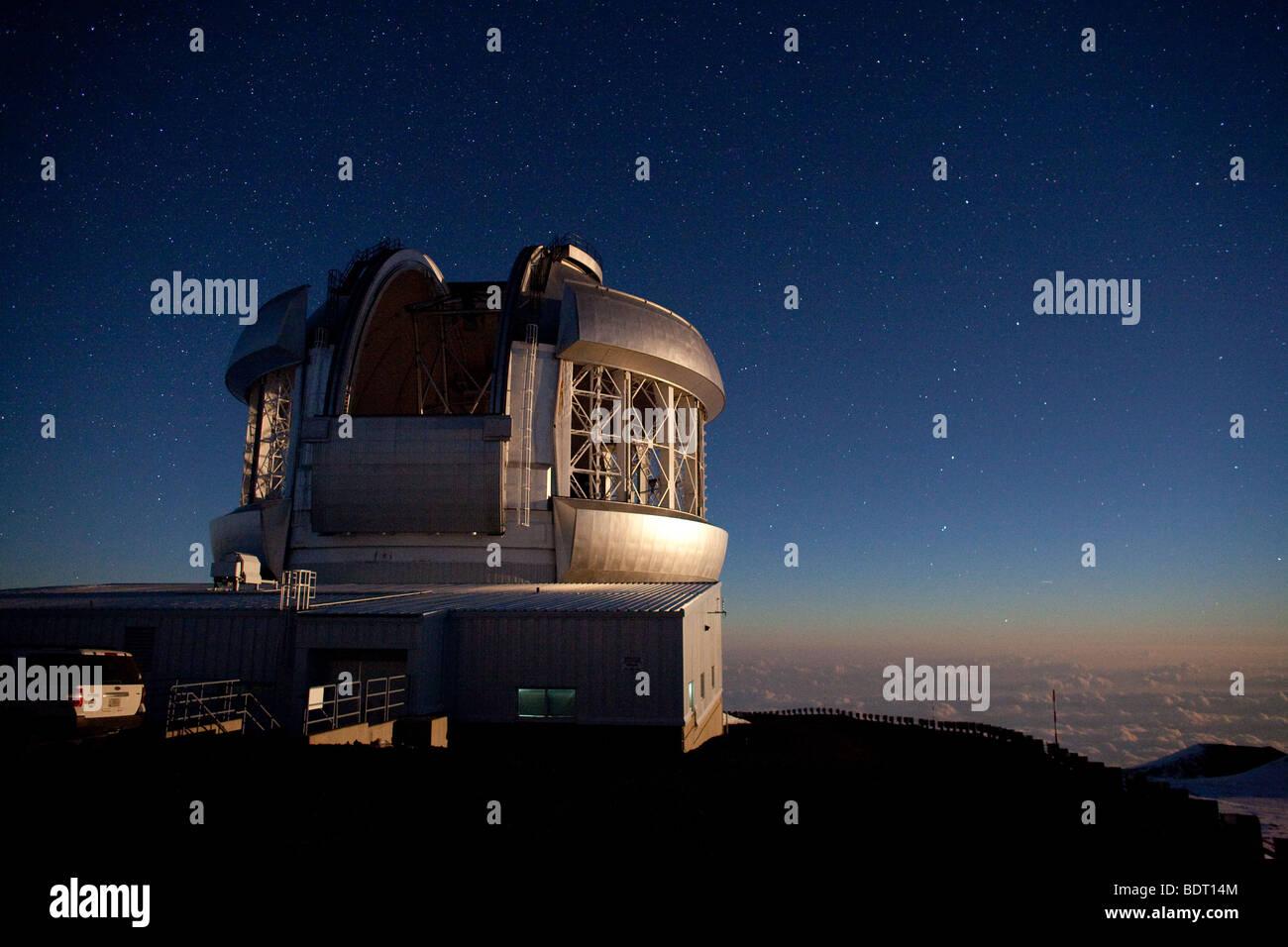 Amateurastronomie mit einem meter teleskop u die live