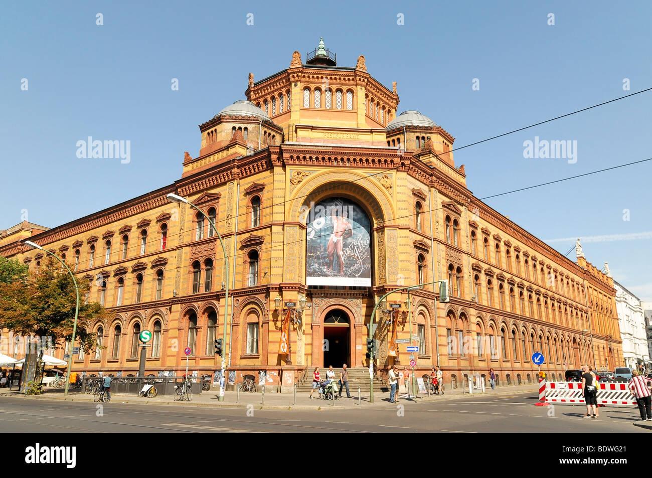 Postfuhramt, Postamt, erbaut 1875-1881 der Bundeshauptstadt, Berlin, Deutschland, Europa Stockbild