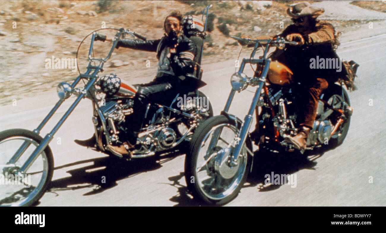 easy rider 1969 columbia film mit peter fonda auf der. Black Bedroom Furniture Sets. Home Design Ideas