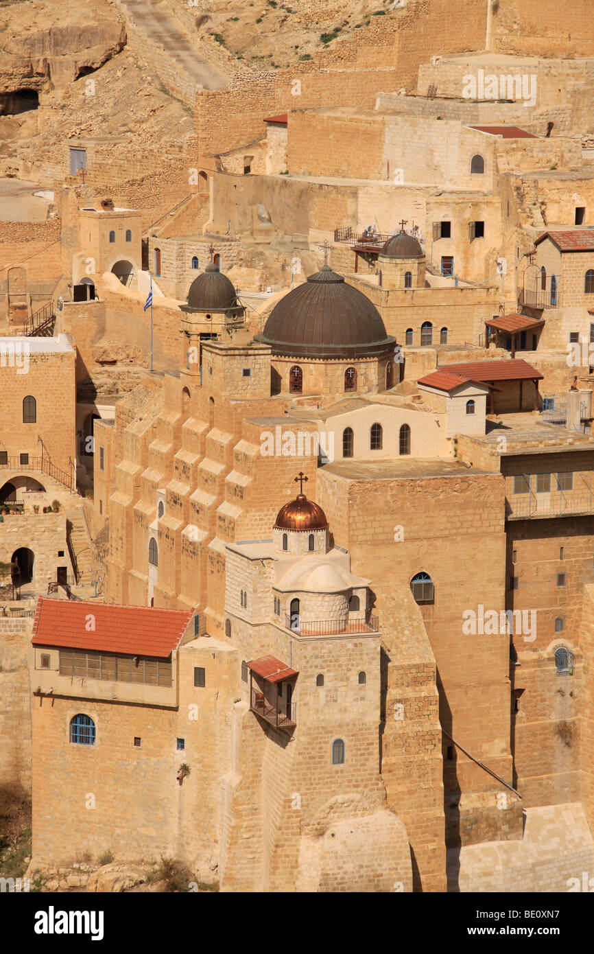 mar saba monastery palestine israel stockfotos mar saba. Black Bedroom Furniture Sets. Home Design Ideas