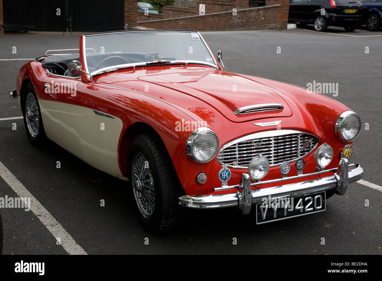 Austin Healey 3000 Stockbild