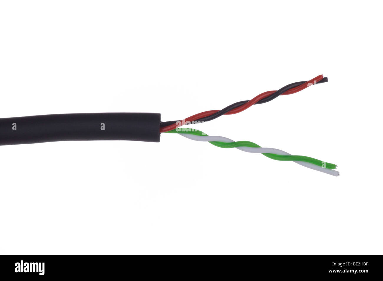 Stripped Cable Stockfotos & Stripped Cable Bilder - Alamy