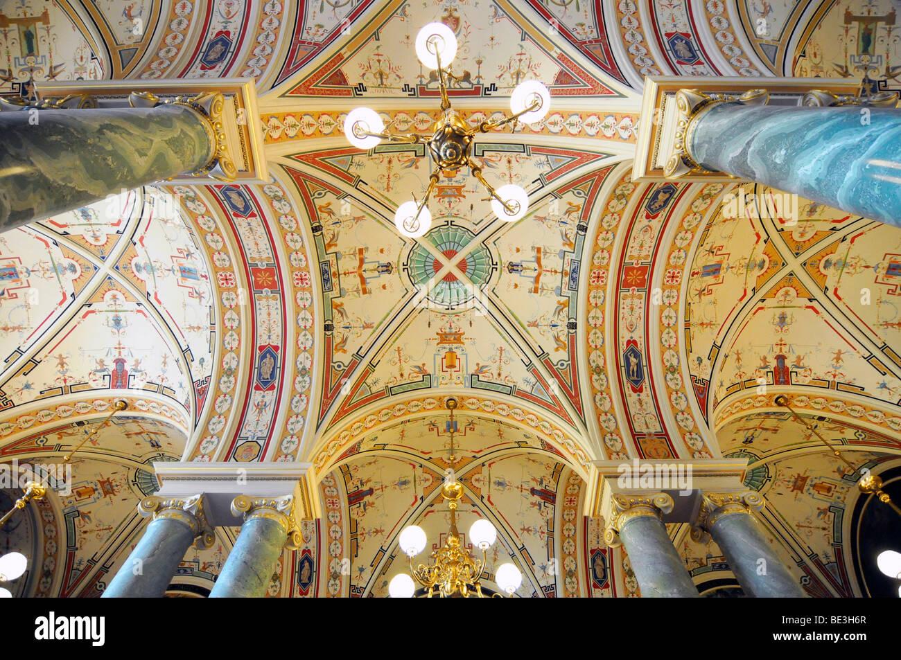Design Innenarchitektur | Decke Design Innenarchitektur Opernhaus Semperoper Dresden