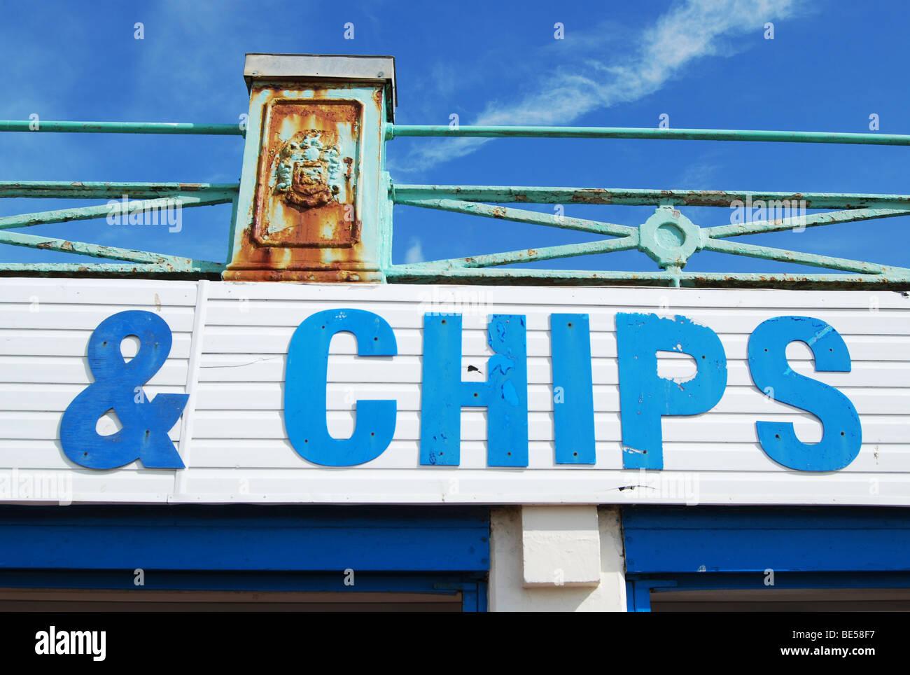 Chips Stockbild