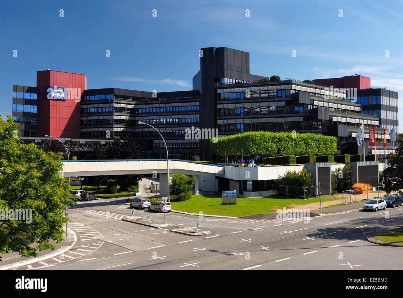 Bürogebäude Der Hamburg Mannheimer Versicherung In Der City Nord
