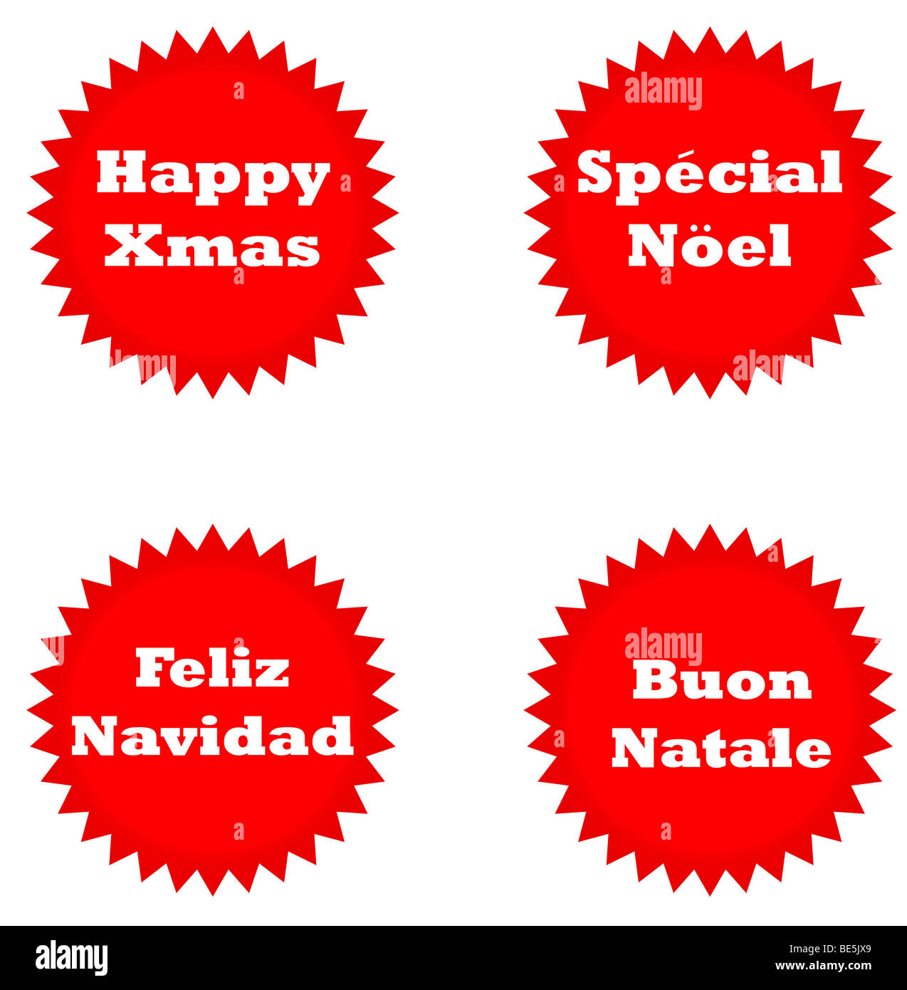 Weihnachtsgrüße Italienisch übersetzung.Französisch Frohe Weihnachten Stockfotos Französisch Frohe