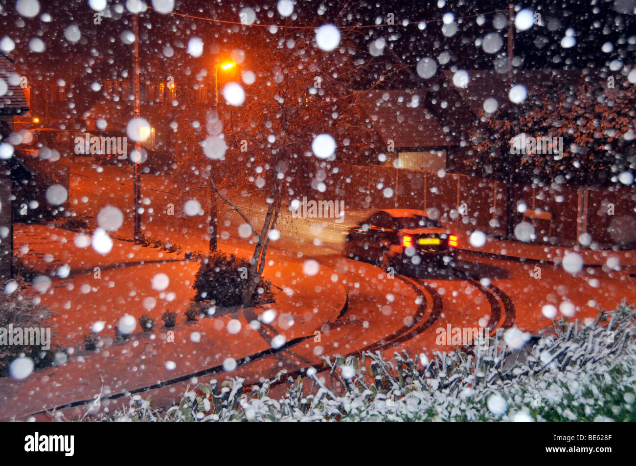 Post Schnee Fallen Stockfotos Post Schnee Fallen Bilder Alamy