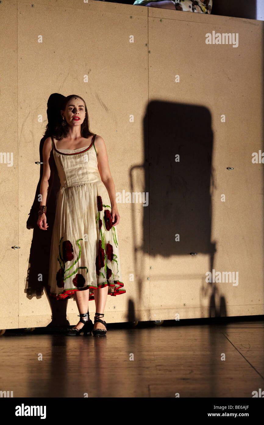 """""""Woyzeck"""", Musical basierend auf dem Stück von Georg Buechner, Songs von Tom Waits und Kathleen Brennan, Stockbild"""
