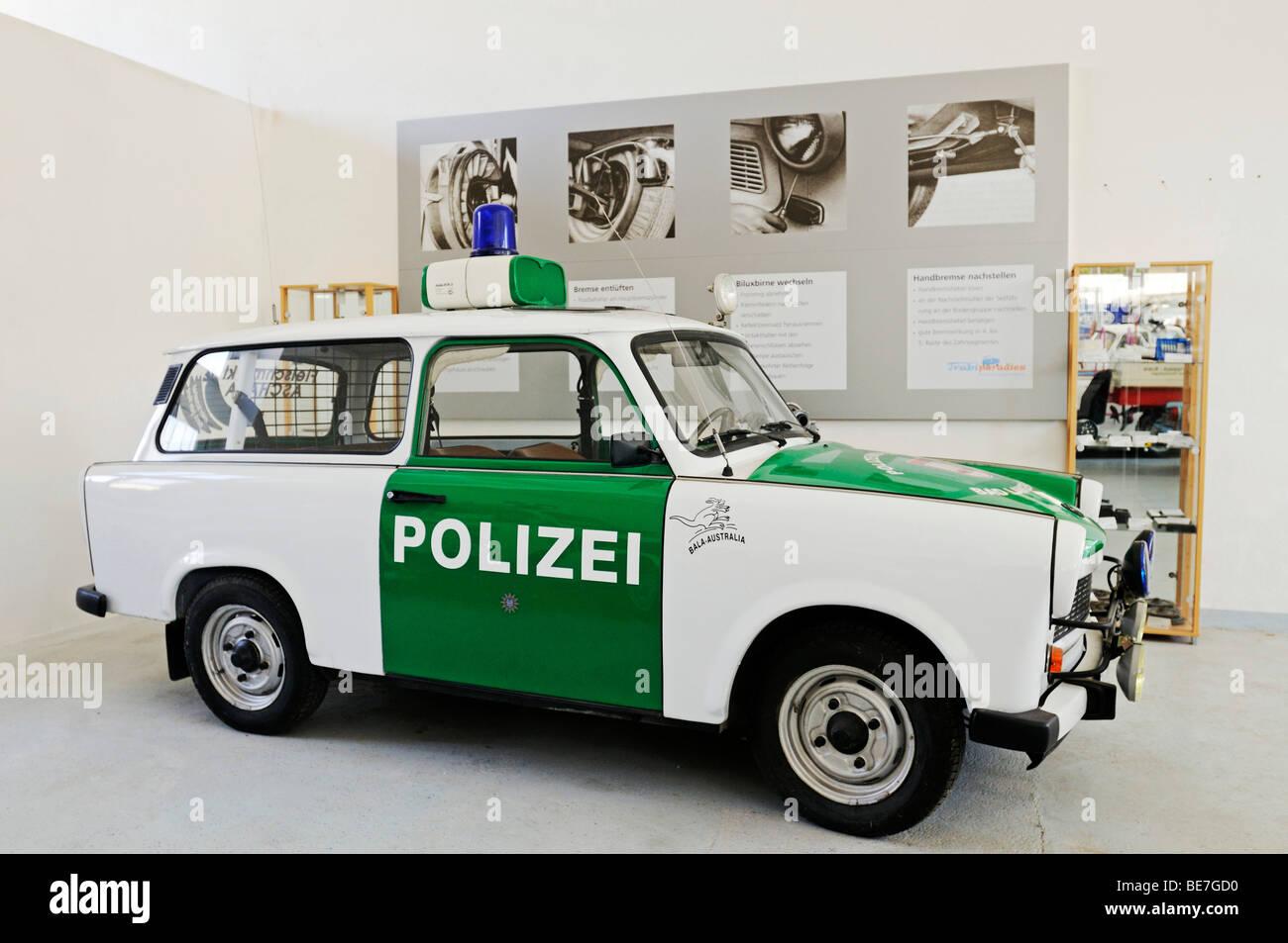 "Automobil-Museum Automuseum ""Trabiparadies Weberstedt"", Weberstedt, Thüringen, Deutschland, Europa Stockbild"