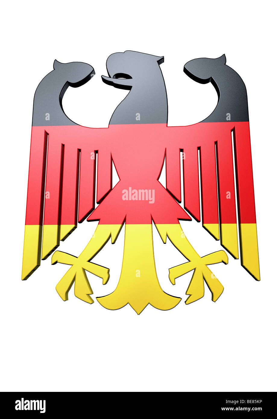 adler der bundesrepublik deutschland mit den farben der. Black Bedroom Furniture Sets. Home Design Ideas