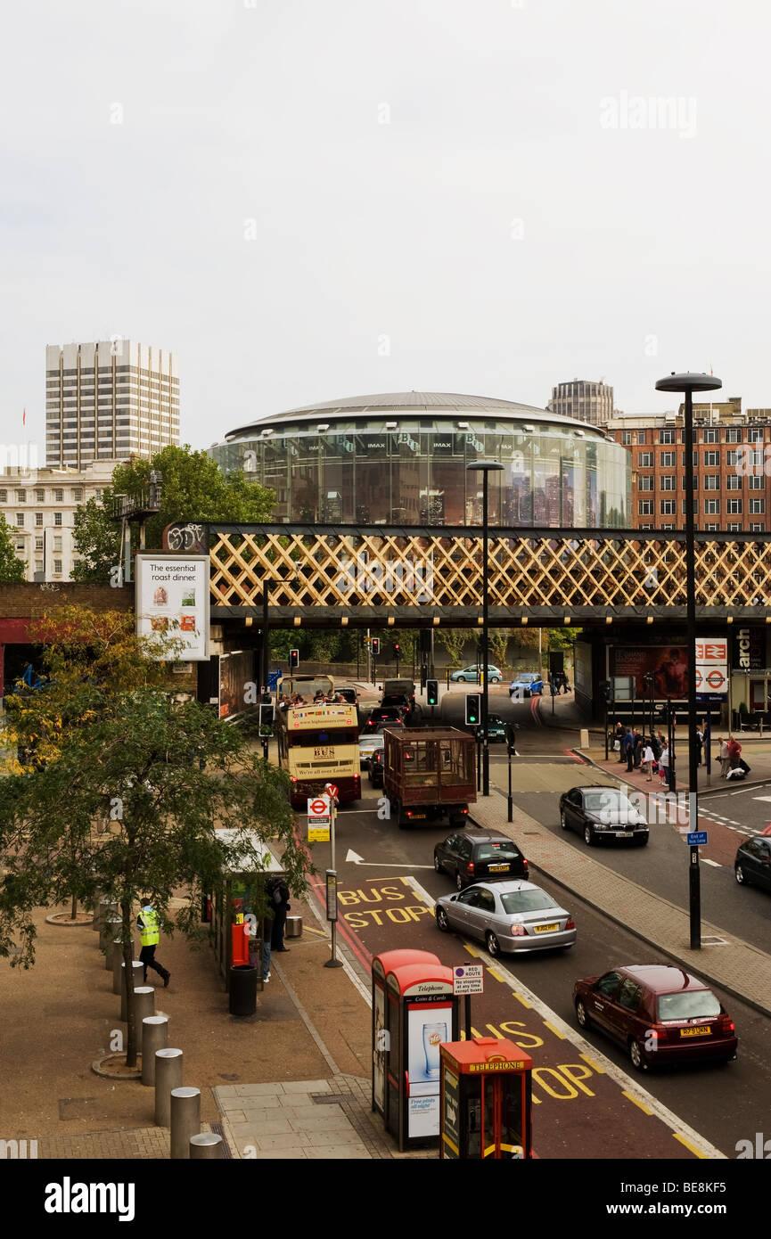 Die London BFI Imax Kino-Komplex.  Foto von Gordon Scammell Stockbild