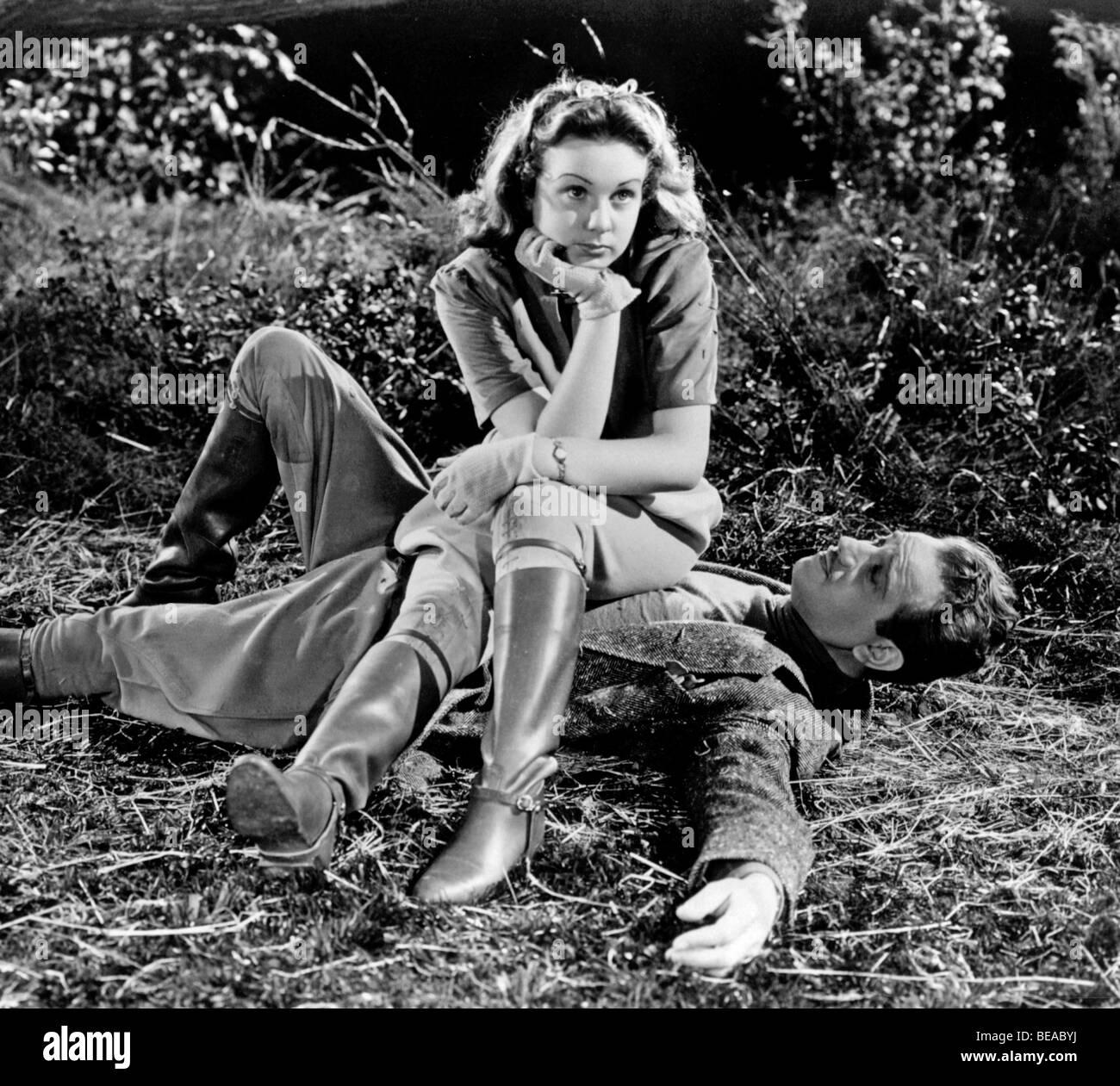 DIESEM bestimmten Alter - 1938 Universal Film mit Deanna Durbin Stockbild