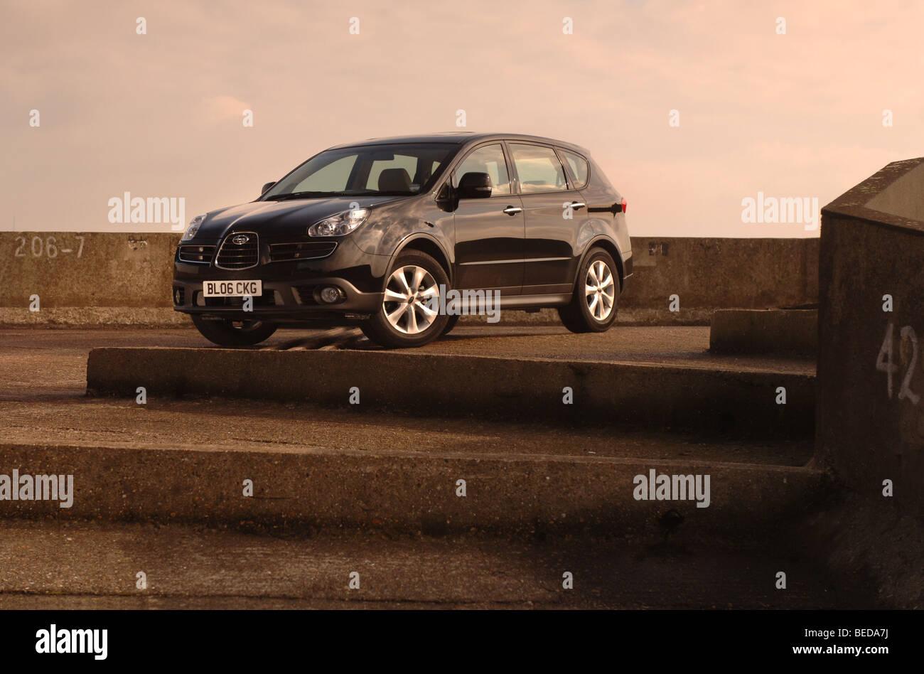 Subaru Tribeca 3.0 SE5 Stockbild