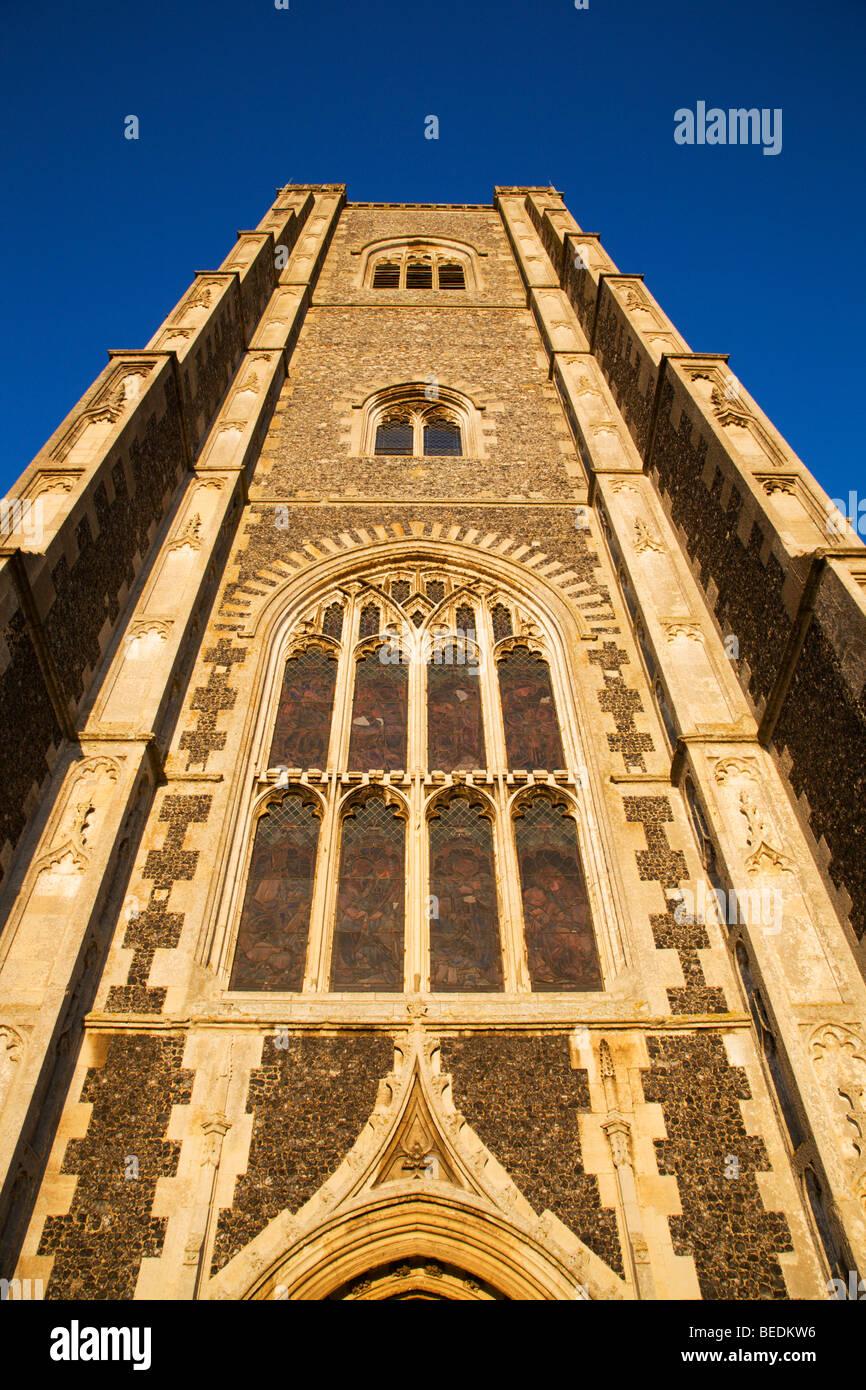 St. Peter und St. Paul Pfarrkirche Lavenham Suffolk England Stockbild