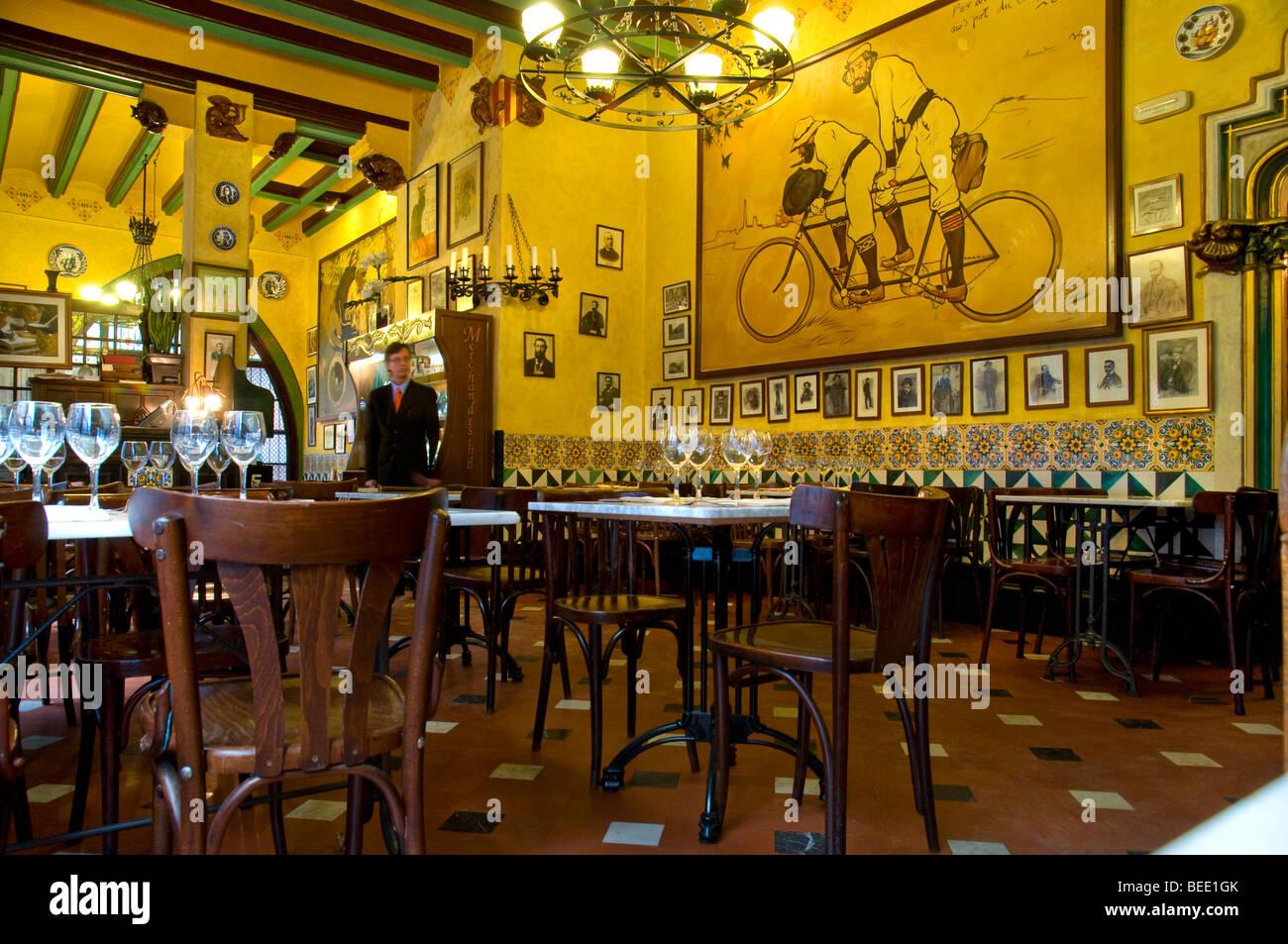 Restaurant Gats Barcelona : Eating history el gats in barcelona spain