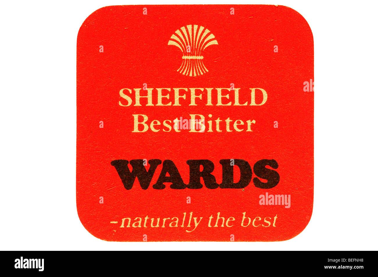 Sheffield beste Bitter wehrt natürlich das beste Stockbild
