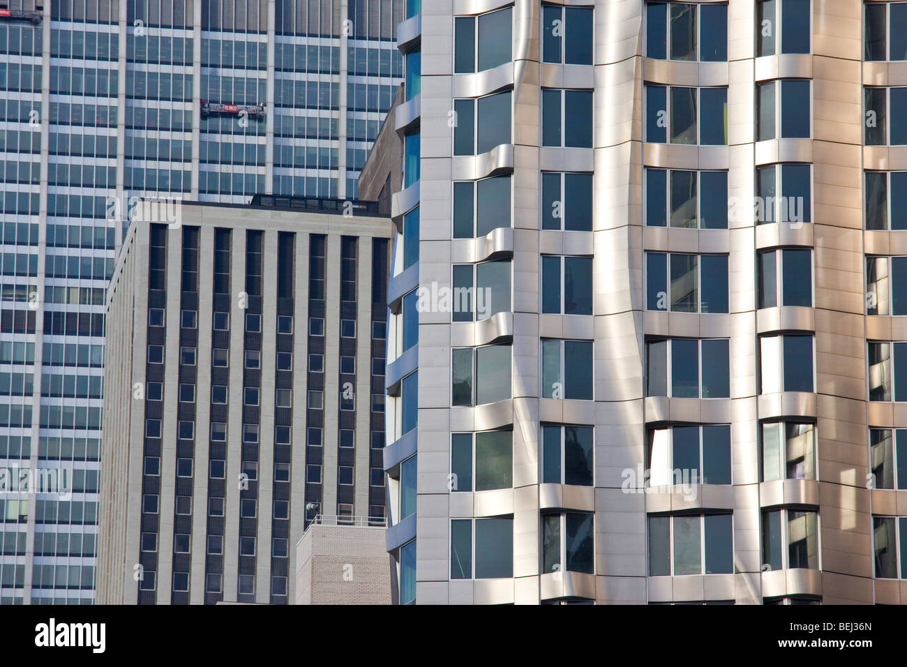 Beekman Tower Frank Gehry Apartment Building in Manhattan in New York City Stockbild