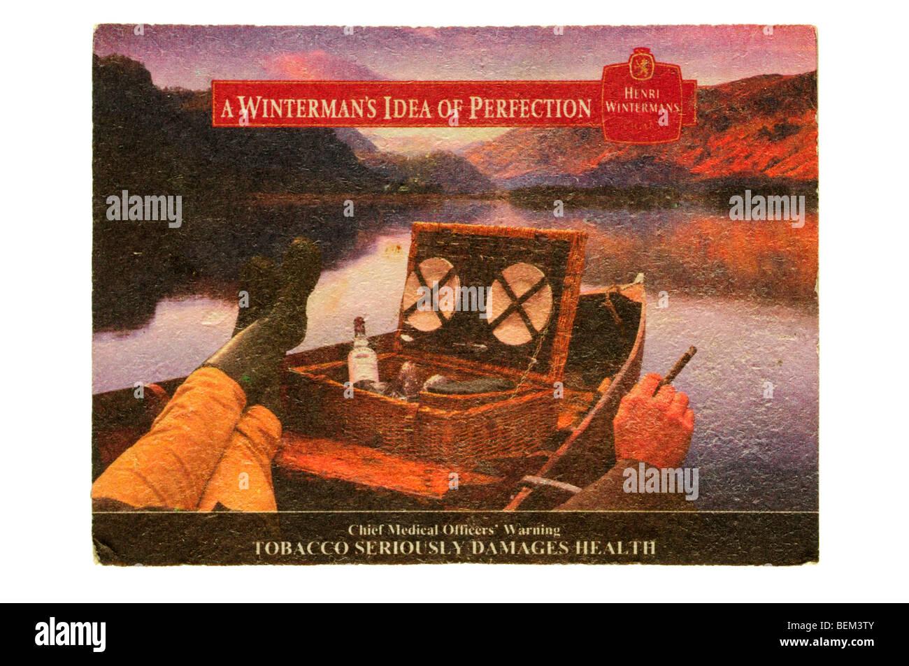 eine Wintermans Vorstellung von Perfektion Henri Winterman Tabak Stockbild