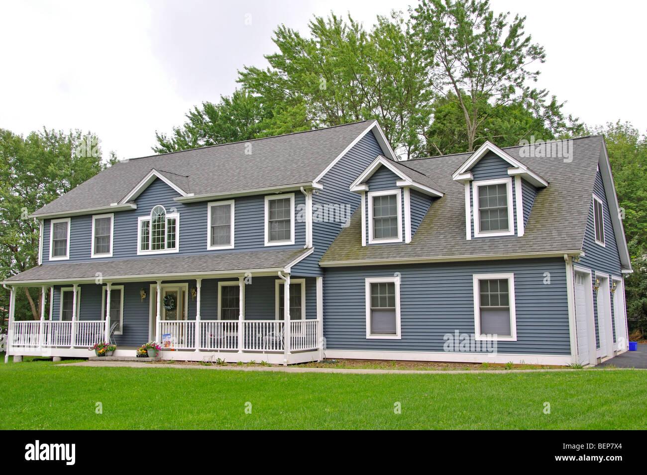 Haus Im Niederlandischen Kolonialstil Stil New England Usa