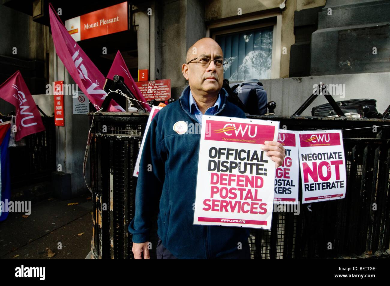 Post Office Strike Stockfotos & Post Office Strike Bilder - Alamy