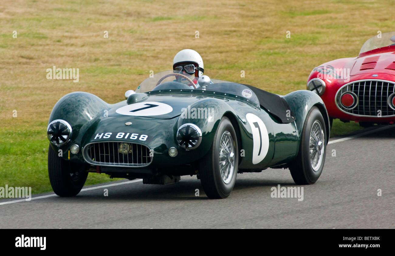 1951 Dargue-MG mit Fahrer Tim Patchett während der Madgwick Cup 2009 beim Goodwood Revival, Sussex, UK. Stockbild