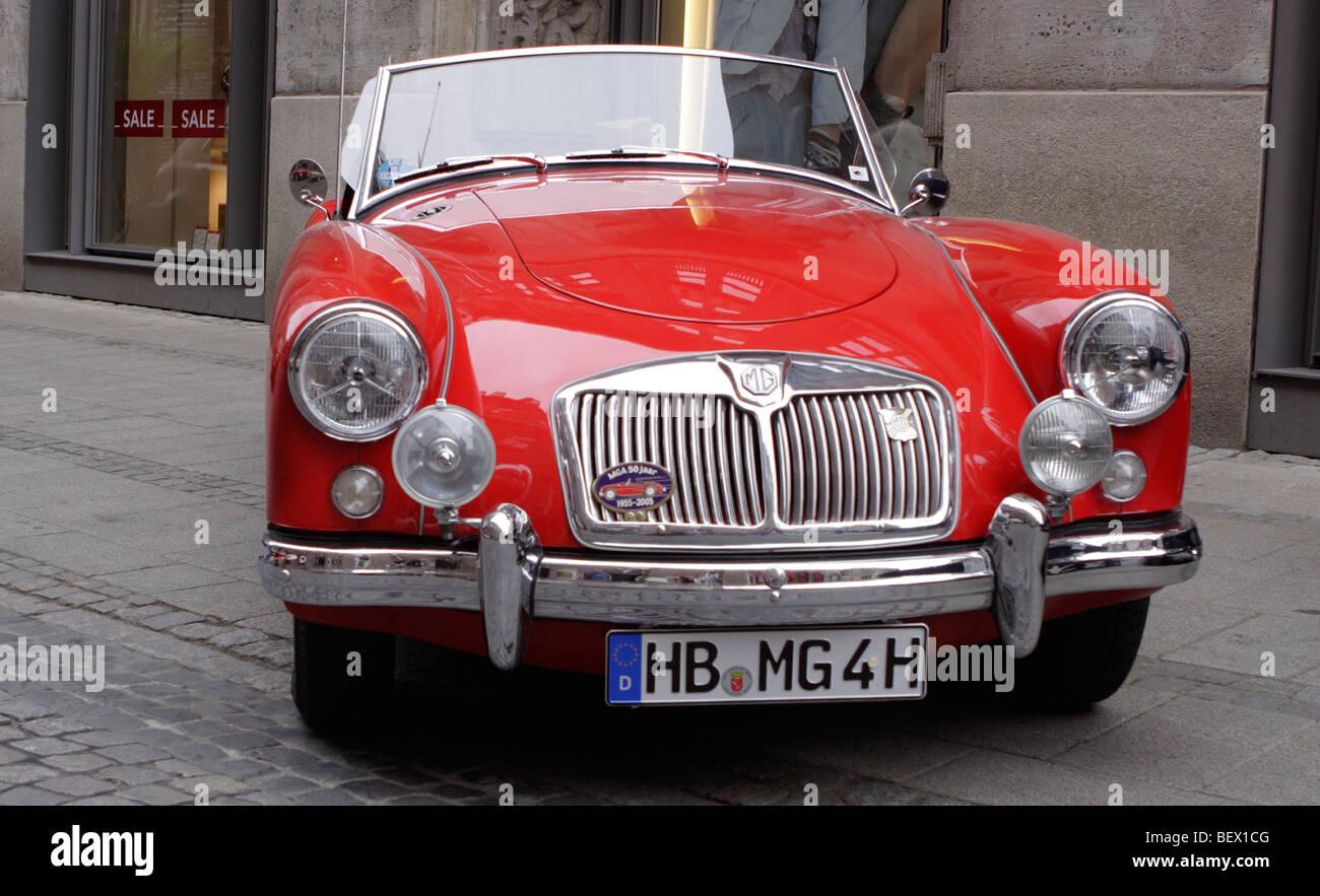 MGA-Auto Stockbild
