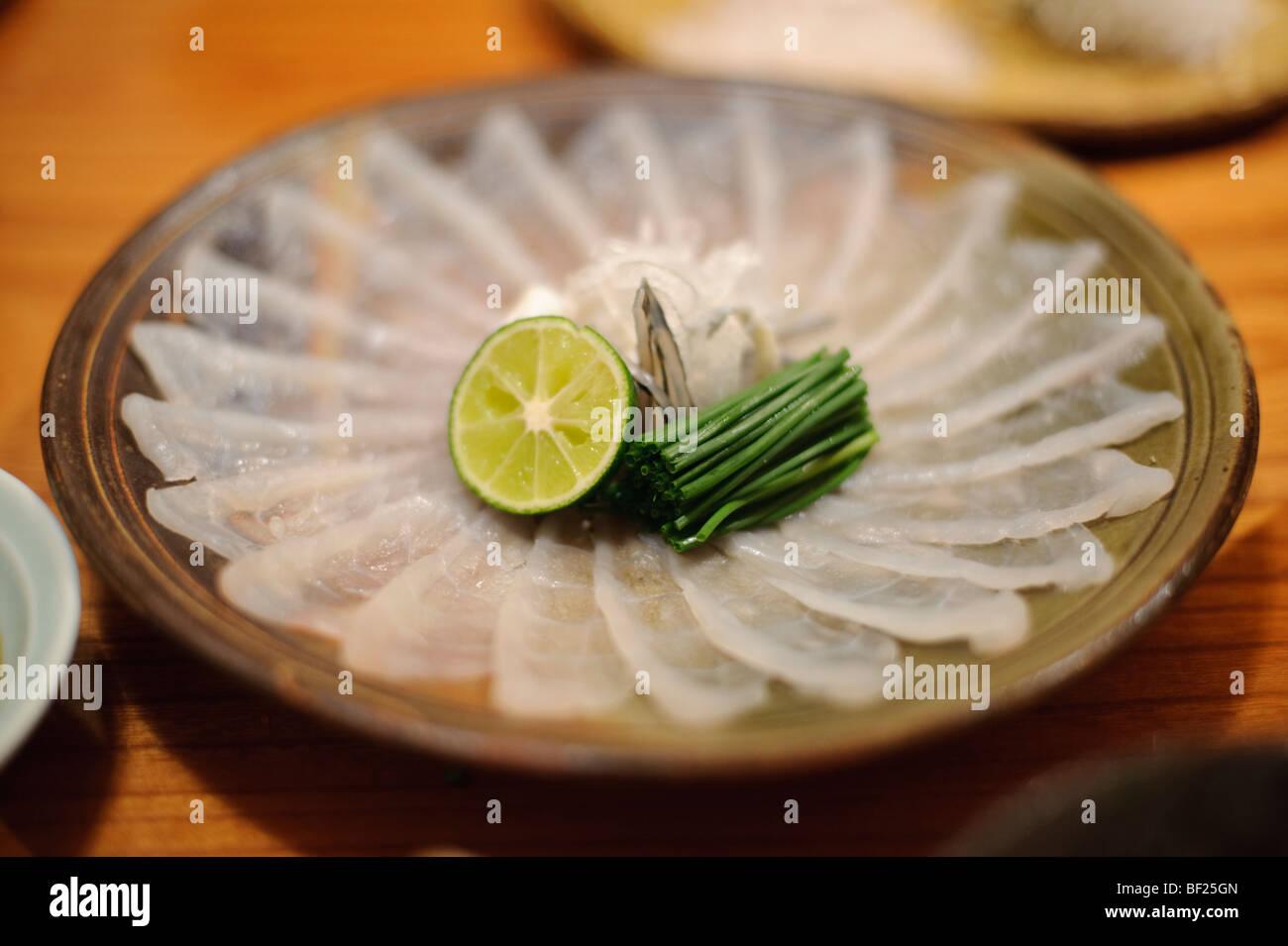 Kugelfisch essen