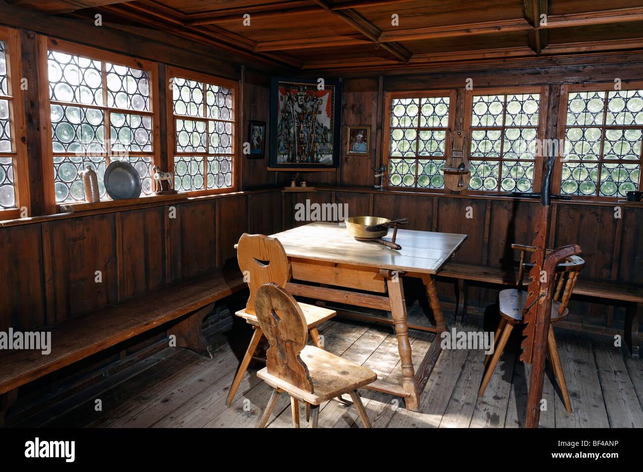 historisches bauernhaus zimmer einrichtung von 1850 haus. Black Bedroom Furniture Sets. Home Design Ideas