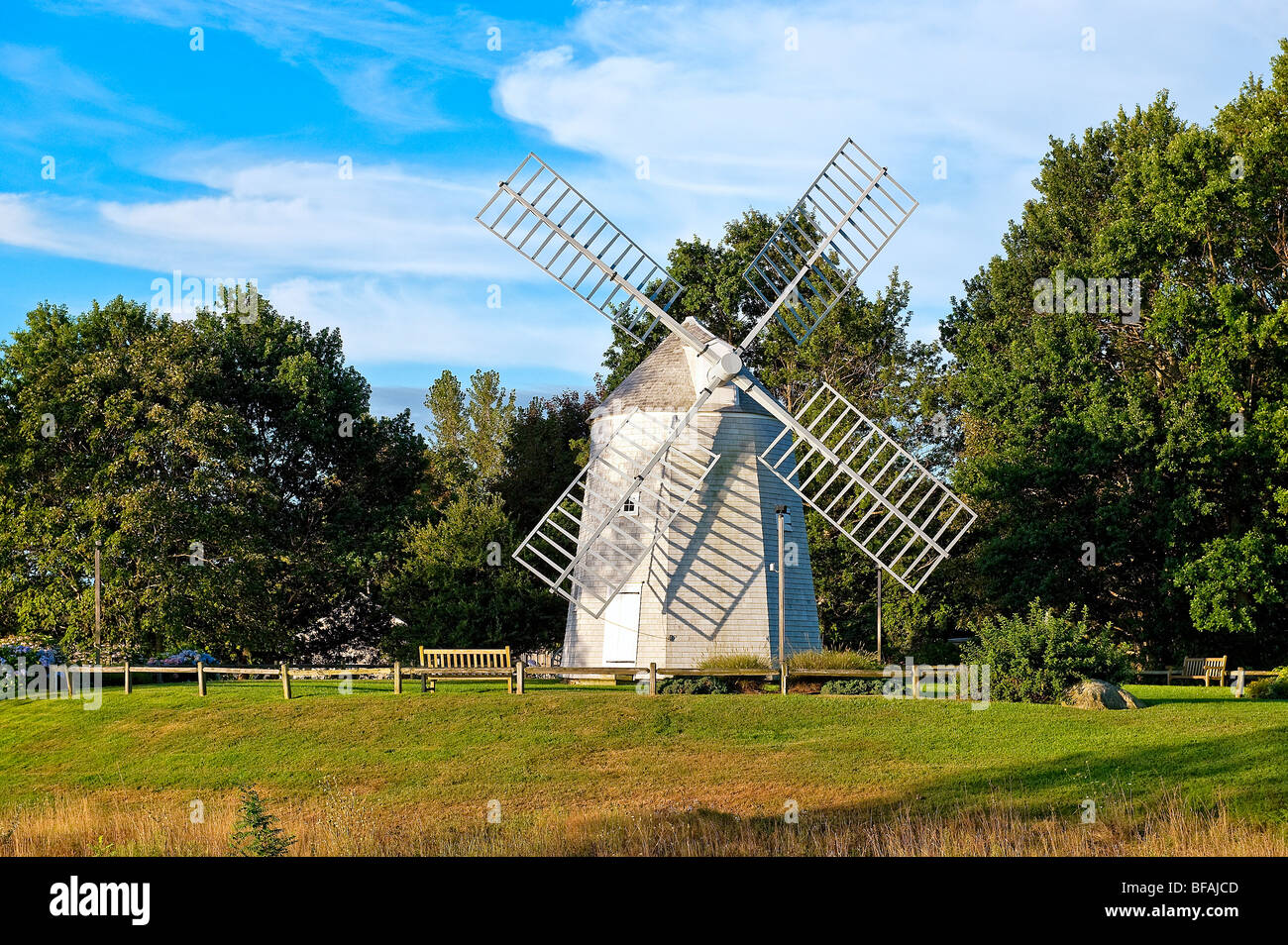Jonathan Young Windmühle, Orleans, Cape Cod, Massachusetts, USA Stockbild