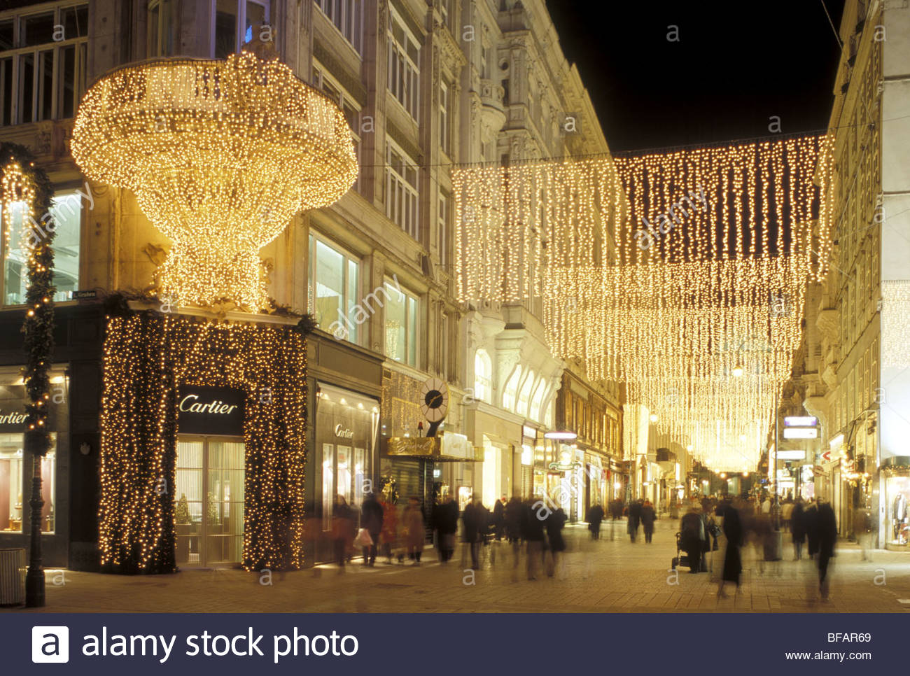 Wien ring weihnachtsbeleuchtung