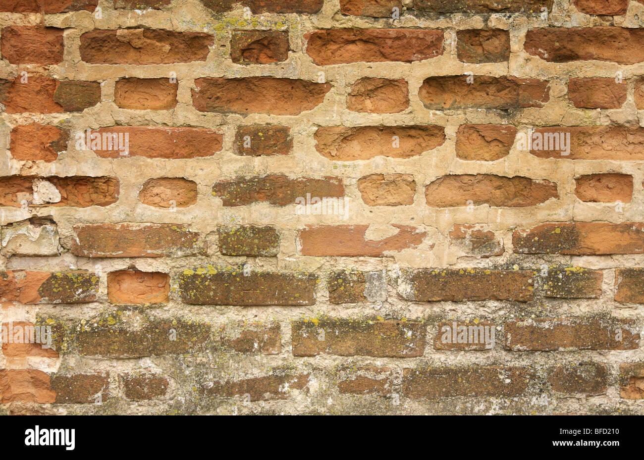 Mauerwerk Stockbild