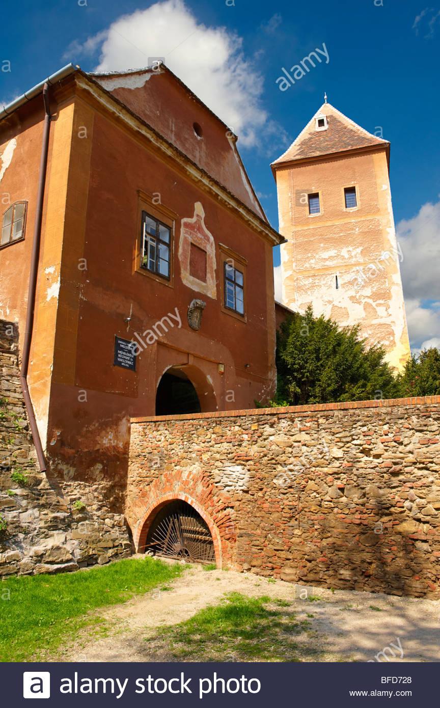 Jurisics-Burg-Museum (V R), K?szeg Ungarn Stockbild