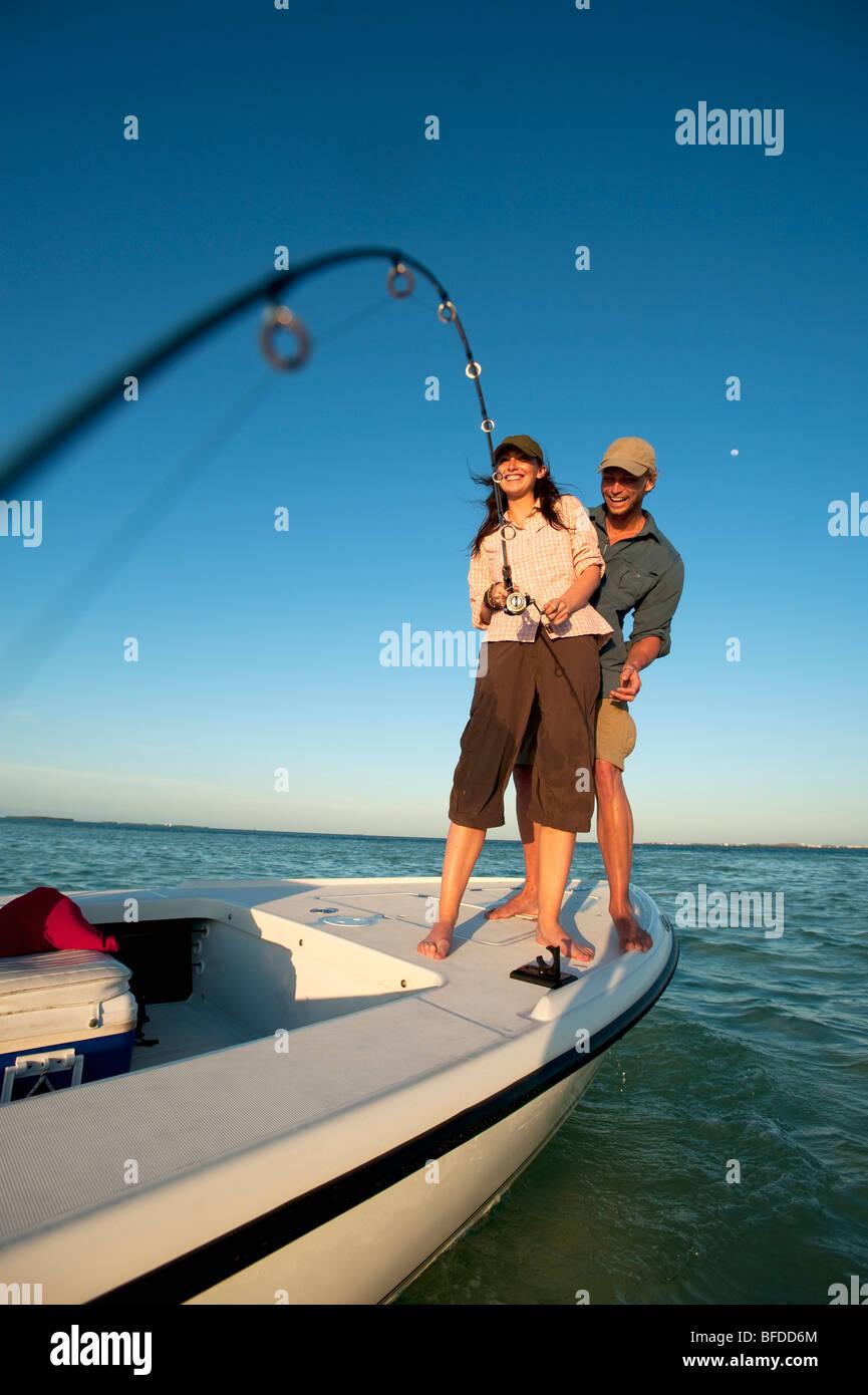 Ein paar Fische in Florida. Stockbild