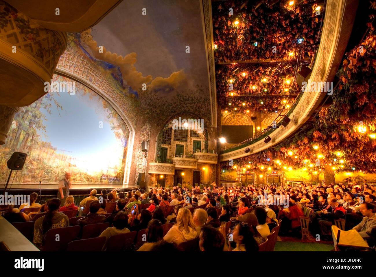 Innenraum Der Winter Garden Theatre In Toronto Ontario Kanada