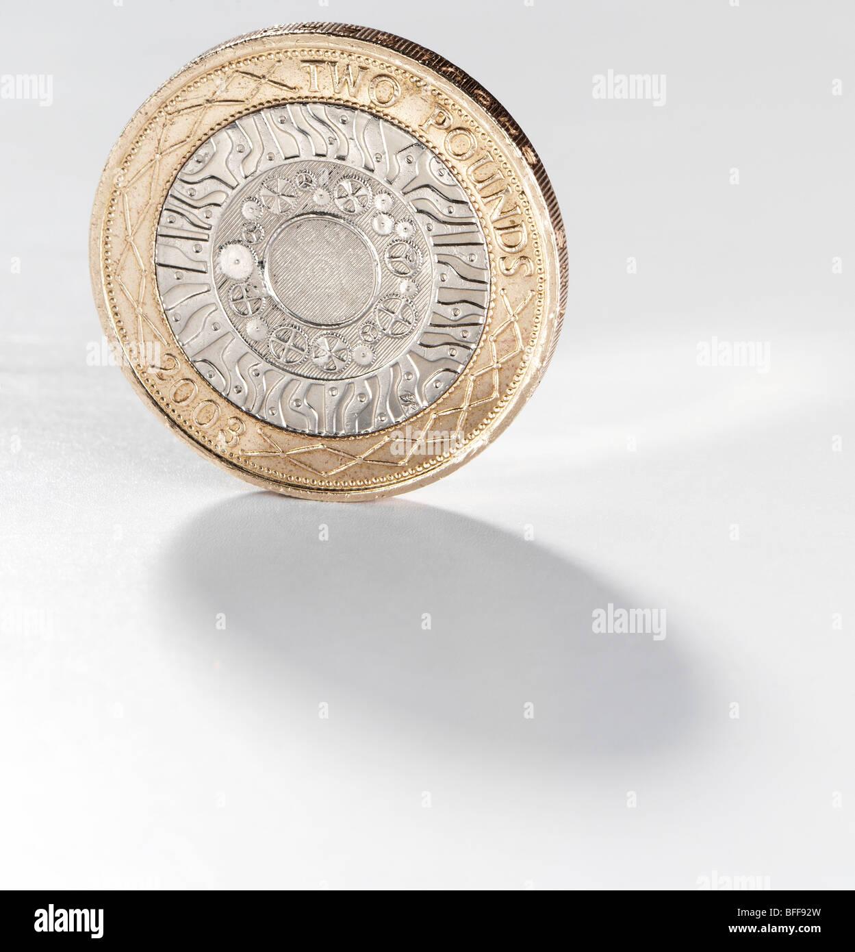 Zwei Pfund Münze Stockfoto Bild 26766625 Alamy