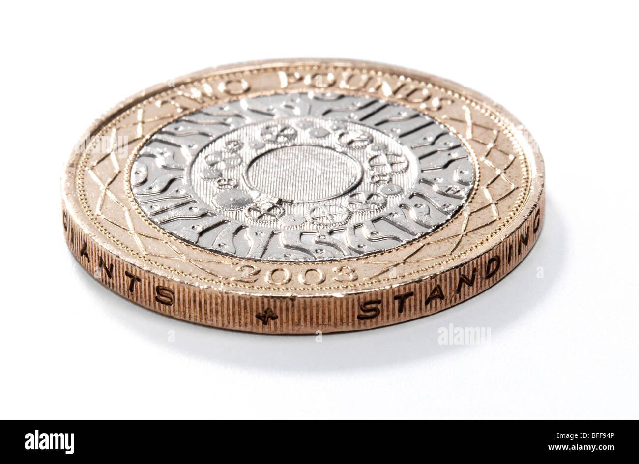 Zwei Pfund Münze Stockfoto Bild 26766678 Alamy