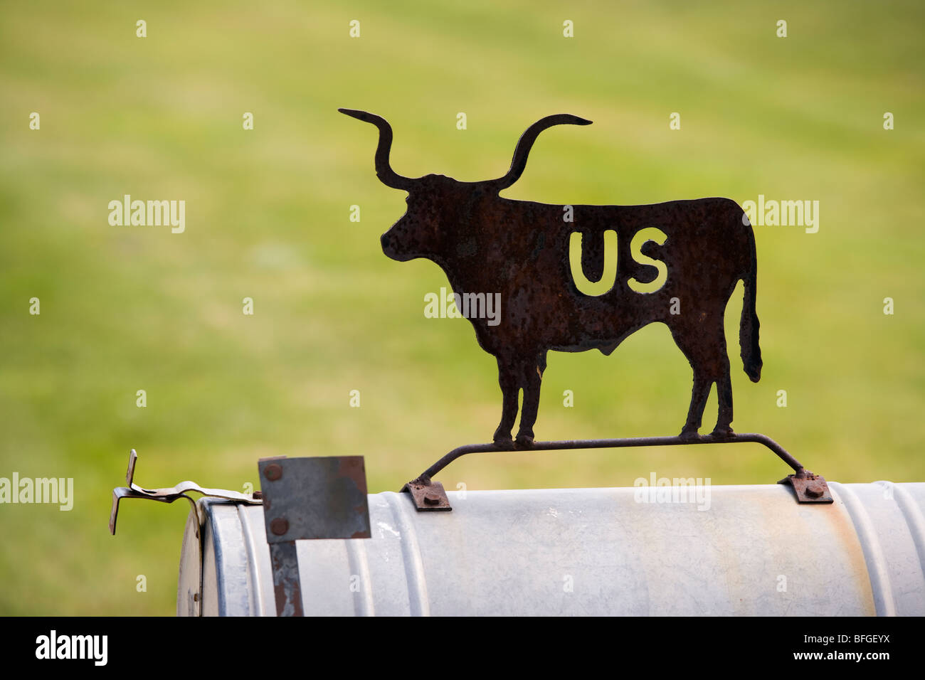 Mail box america stockfotos mail box america bilder alamy for American briefkasten