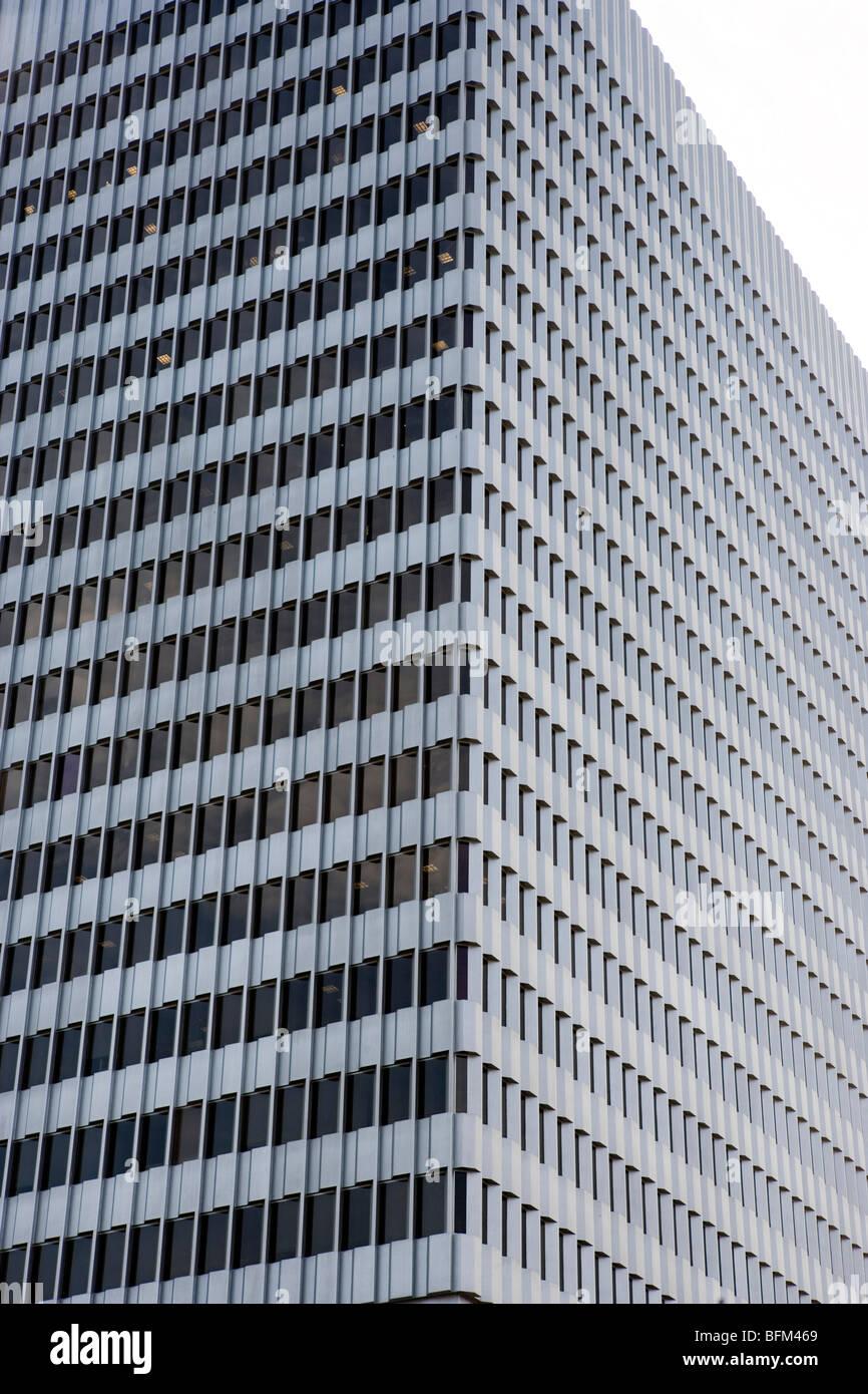 Bankgebäude, Los Angeles, Kalifornien Stockbild