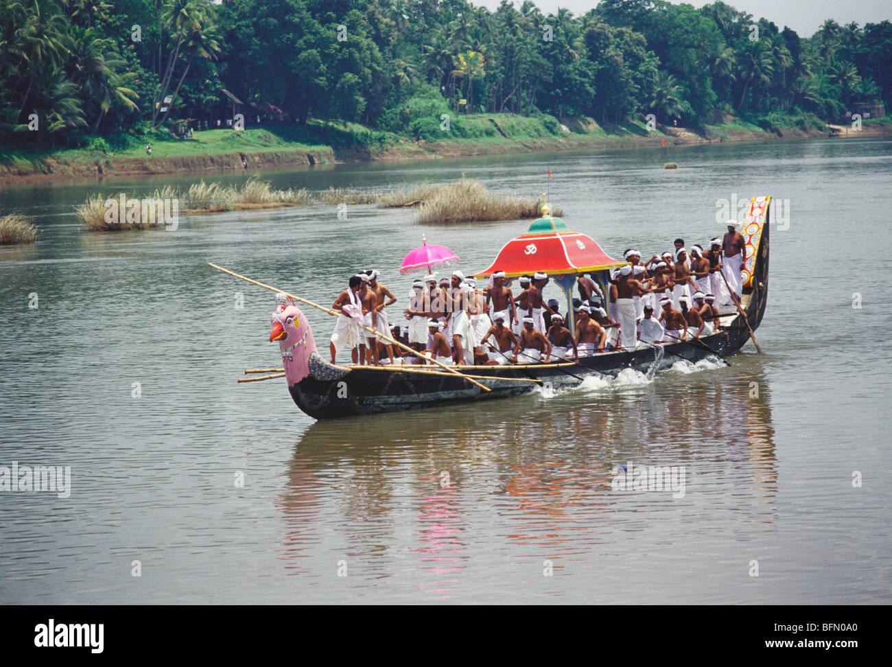 Maa 60829 Thiruvonam Thoni Spezielles Boot Für Den Tempel Einsatz
