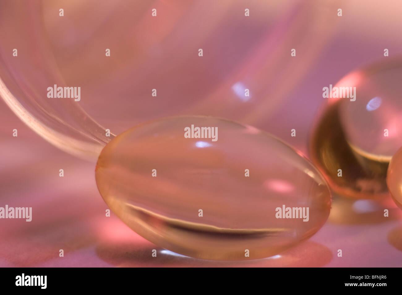 Pille-Kapsel Stockbild