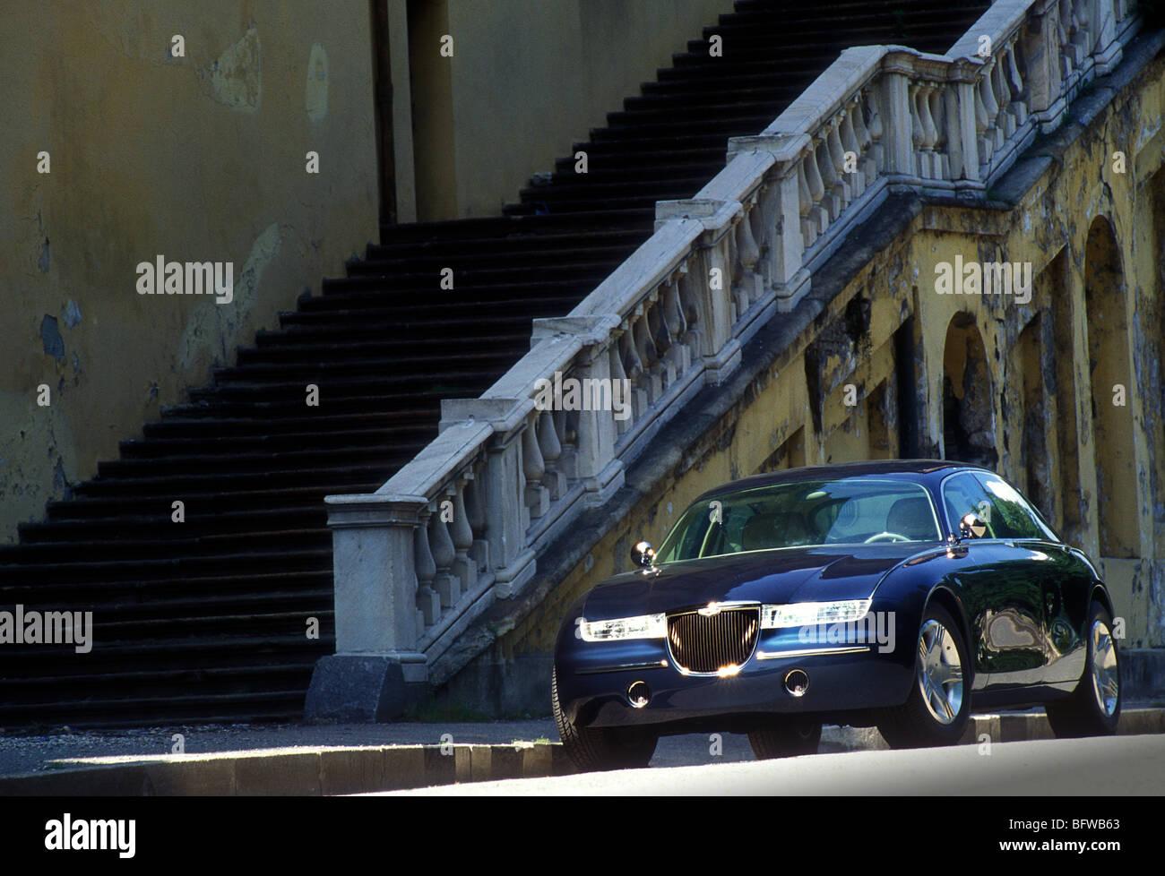 Aston Martin Lagonda Vignale Showcar 1993 Stockfotografie Alamy
