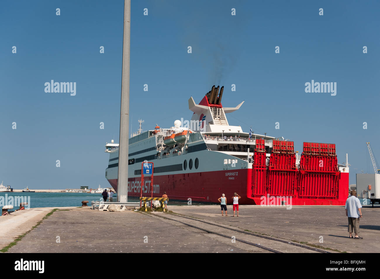 ferry ancona stockfotos ferry ancona bilder alamy. Black Bedroom Furniture Sets. Home Design Ideas