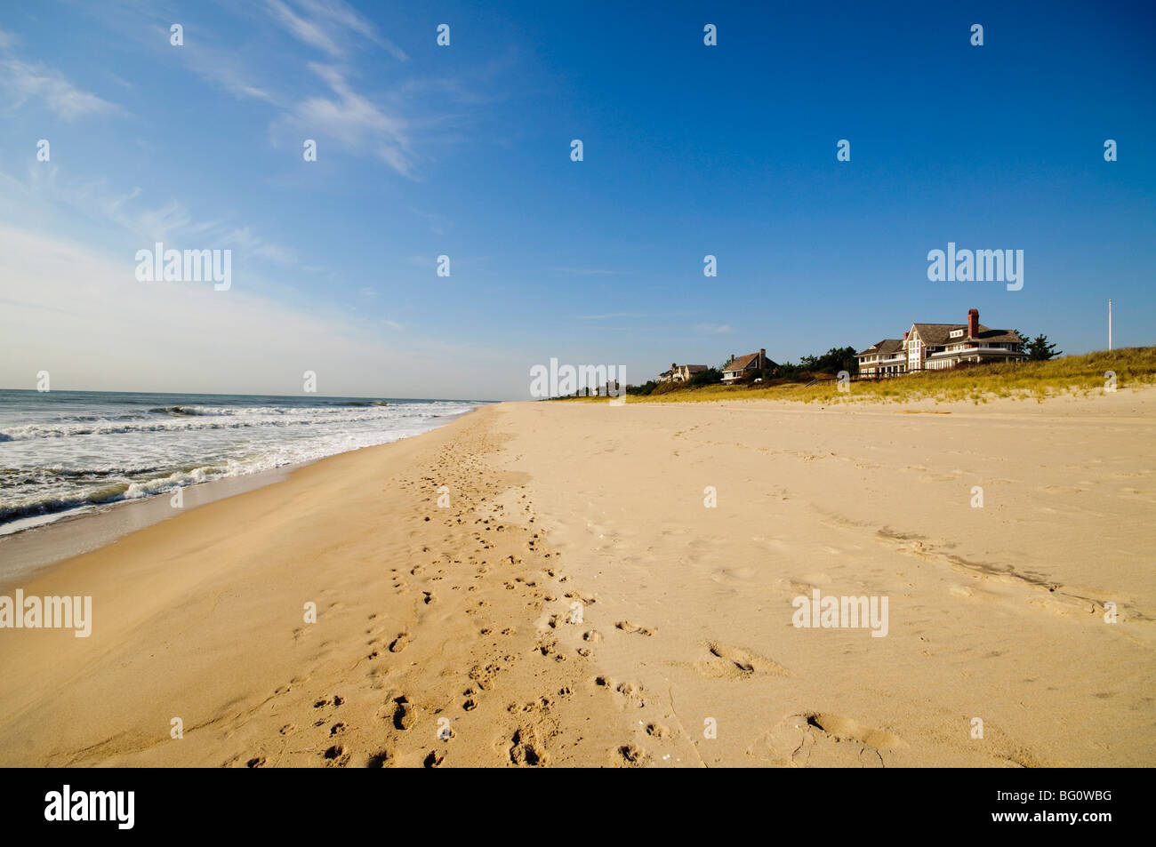 Main Beach, East Hampton, den Hamptons, Long Island, New York Staat, Vereinigte Staaten von Amerika, Nordamerika Stockbild