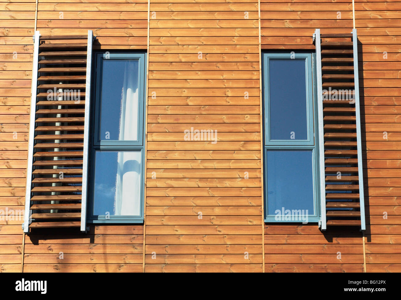 Building Architecture Housing Harlow Stockfotos & Building ...