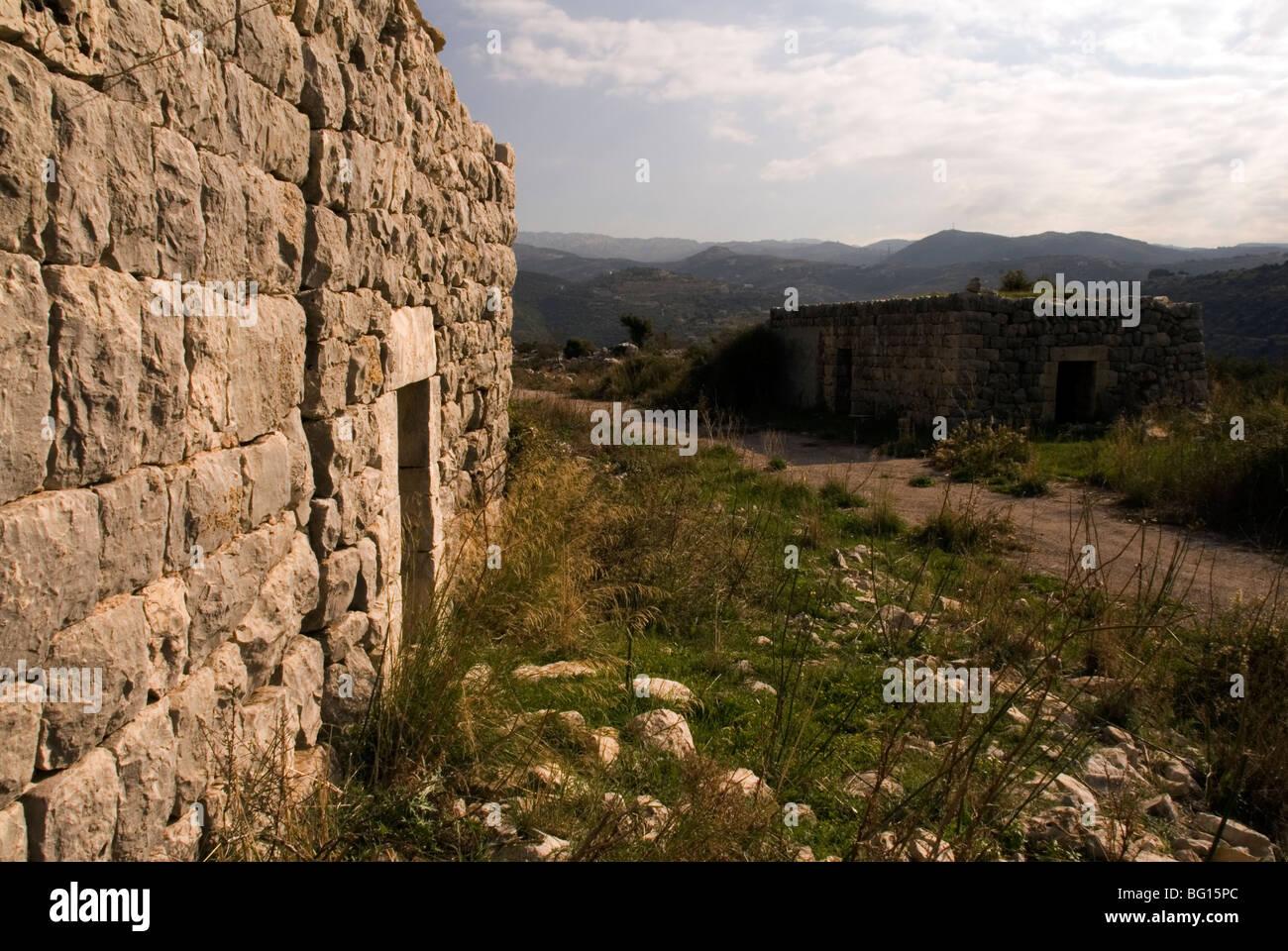 traditionelles Haus der libanesischen Land Stockbild