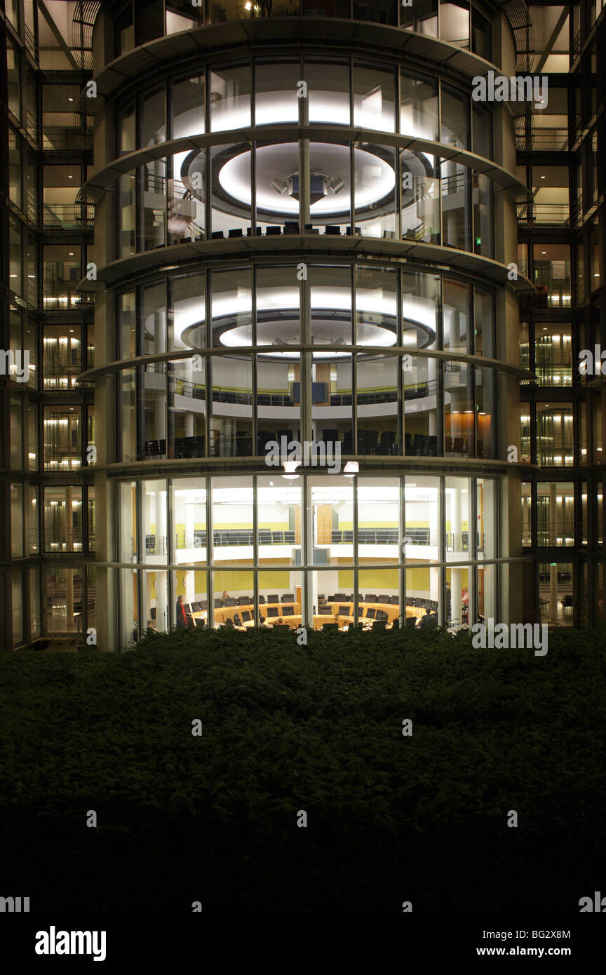 Paul-Loebe-Haus. Berlin Stockbild