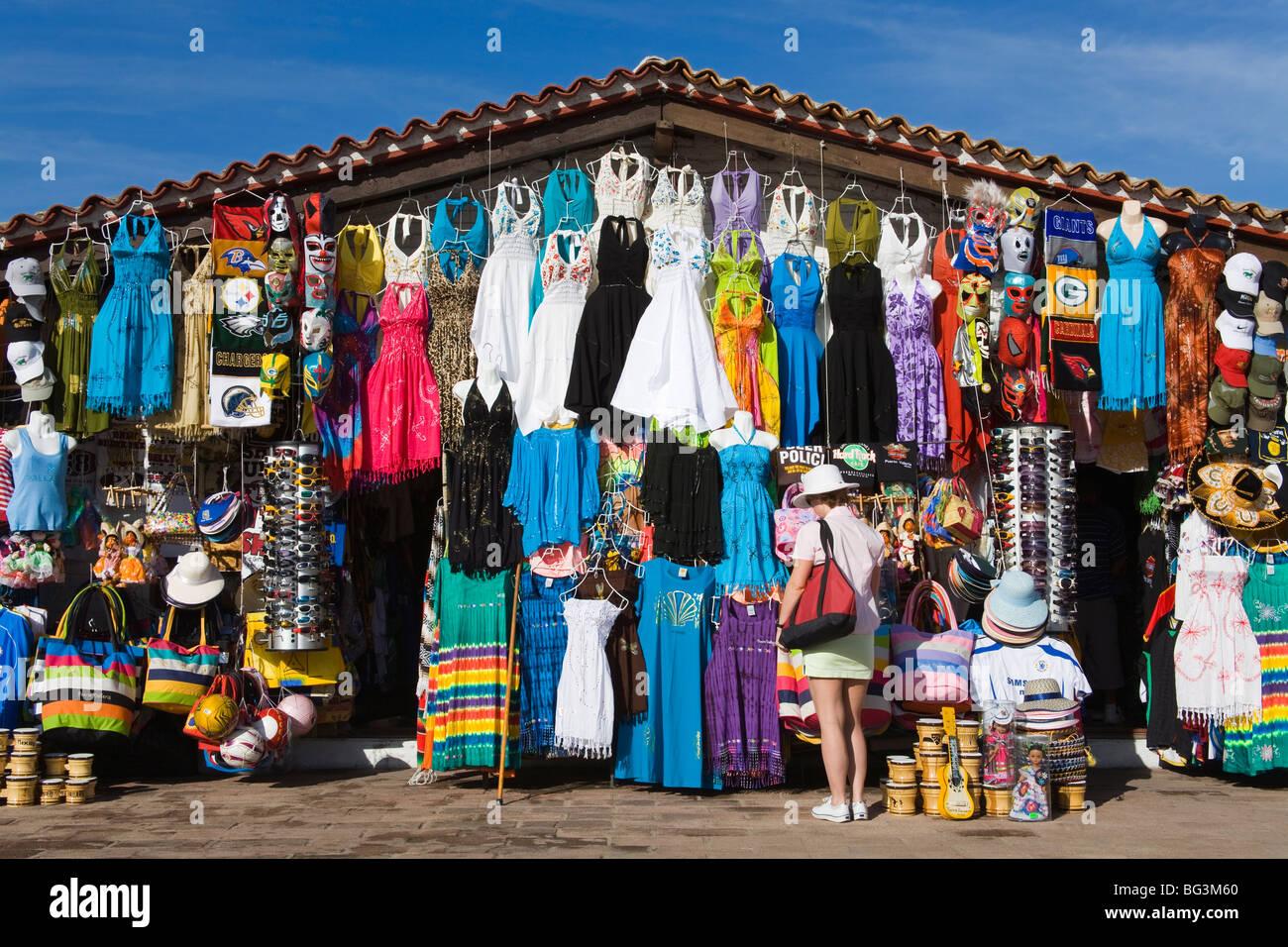 Flohmarkt, Puerto Vallarta, Jalisco Staat, Mexiko, Nordamerika Stockbild