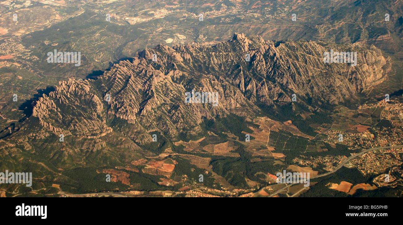 Montserrat, Katalonien Stockbild