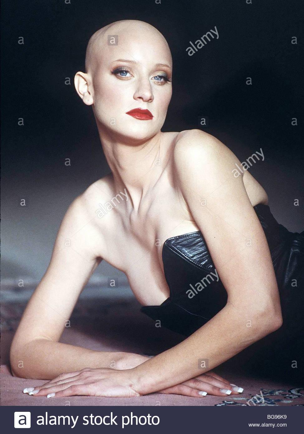 Kristen Fick weibliche haarlosen Glatze Modell Frau junge